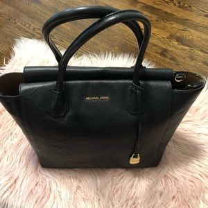 MK Black  Shoulder Handbag